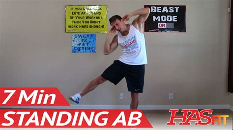 standing ab exercises hasfit standing abs workout