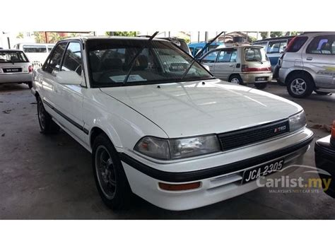 Toyota Corolla 1990 Manual Toyota Corolla 1990 In Johor Manual White For Rm 6 000