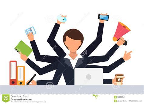 design management work office job stress work vector illustration stock vector