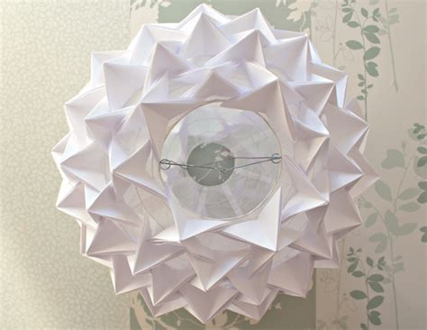 Origami Paper Lanterns - how to make a stunning designer look origami paper lantern