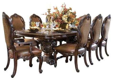 essex manor 10 rectangular dining table set with