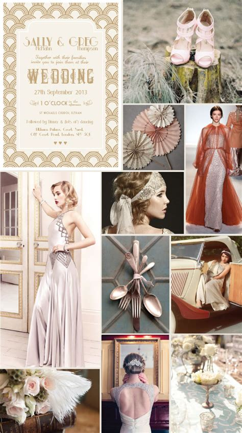 themes for the great gatsby the great gatsby 20 s wedding theme papergrace