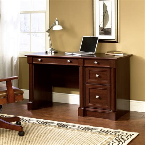 writing desk with matching credenza palladia computer desk 412116 sauder