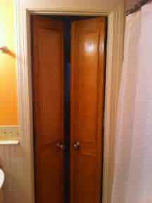 Bathroom Closet Door Ideas by Double Bathroom Doors Small Basement Bathroom Or Basement