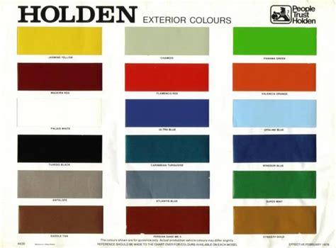 Kbc Vk Solid Edition Yellow monaro colour codes monaro shrine