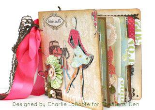 charlie's room: websters pages trendsetter mini album