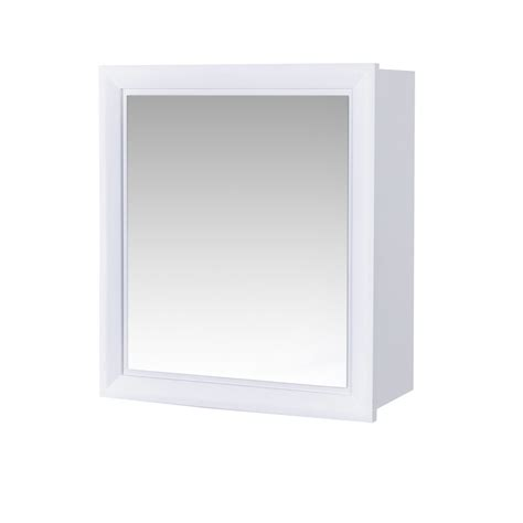 wall mounted bathroom mirror buy wall mounted matte white quot moreton quot bathroom mirror