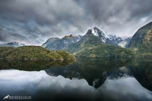 Landscape Photography New Zealand Doubtful Sound Dramatic Reflections Fiordland Nz