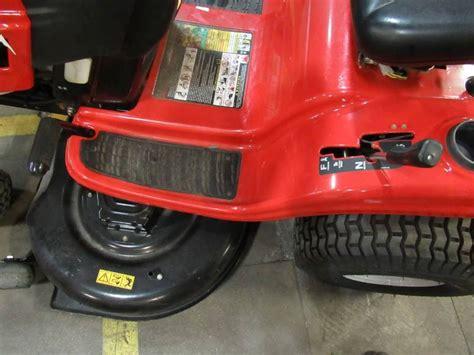 troy bilt horse  hp hydrostatic   riding lawn mower  small oil leak mn home