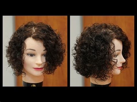 hairstyles for step cut curly hair women s medium length layered haircut tutorial for curly
