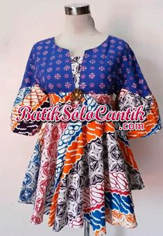 Baju Yang Bagus Dan Murah Cherry Pelangi Limited baju kerja batik modern model blouse cherry f36 daniyanti