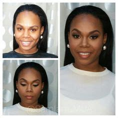 african american makeovers before and after makeover makeup for black women red lip