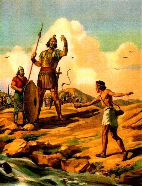 imagenes biblicas de david y goliat destellos david vence a goliat 1 samuel 17 45