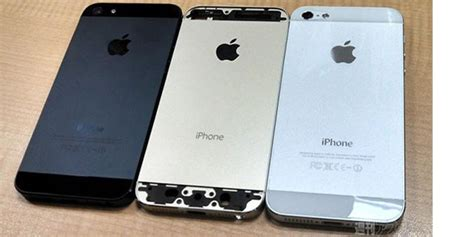 parade foto iphone 5s warna emas kompas