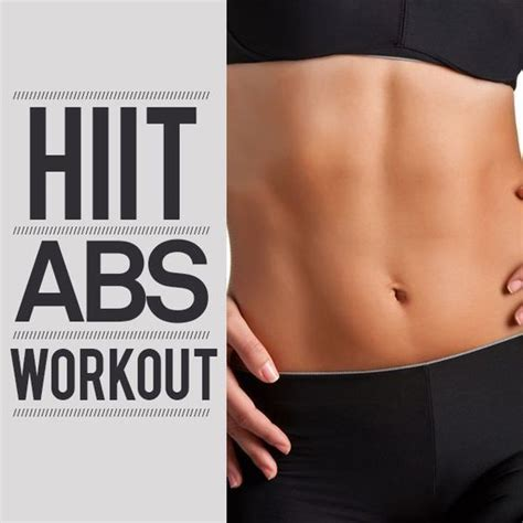high intensity interval abs workout hiit and interval