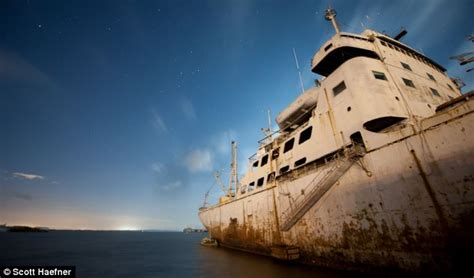 derelict rowing boat for sale the ghost ships of mothball fleet incredible pictures of