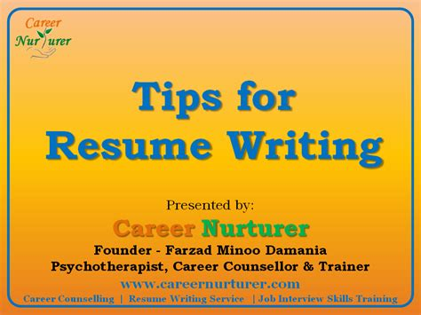 30 simple but important rules when writing your resume