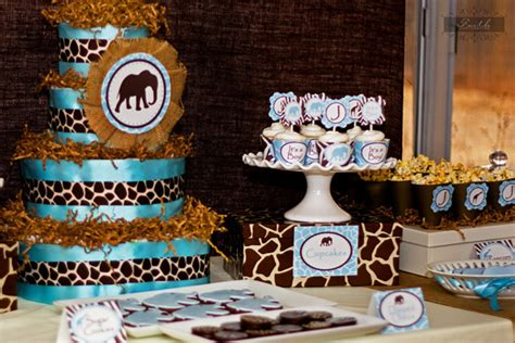 Safari Baby Shower Decorations For A Boy by It S A Boy Safari Baby Shower Baby Shower Ideas