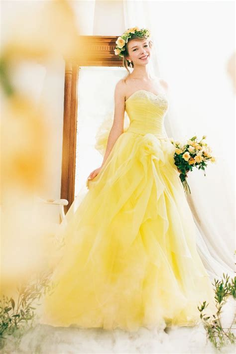 Yellow Weddingprewed Dress amusing yellow wedding dress 88 for your bridal dresses