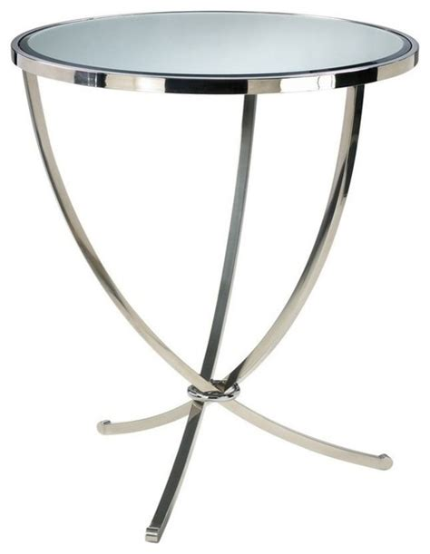 accent table for foyer cyan design 32 inch round nuovo foyer accent table