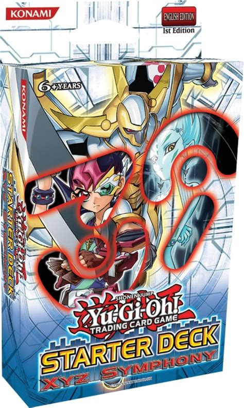 yugioh starter deck yu gi oh tcg xyz symphony starter deck 4012927245125
