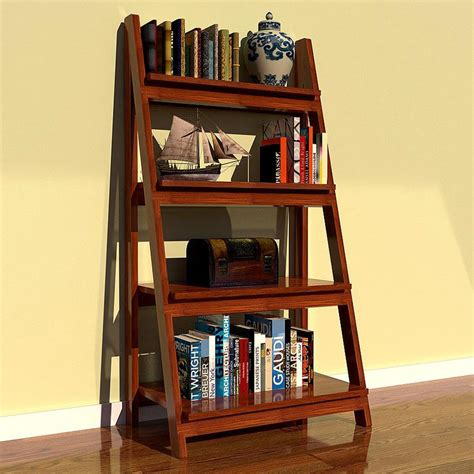pdf woodwork ladder bookshelf plans diy plans