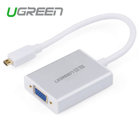 Micro Hdmi To Vga Adapter ugreen micro hdmi to vga cable micro hdmi to vga