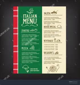 italian restaurant menu templates 8 sle italian menus psd vector eps