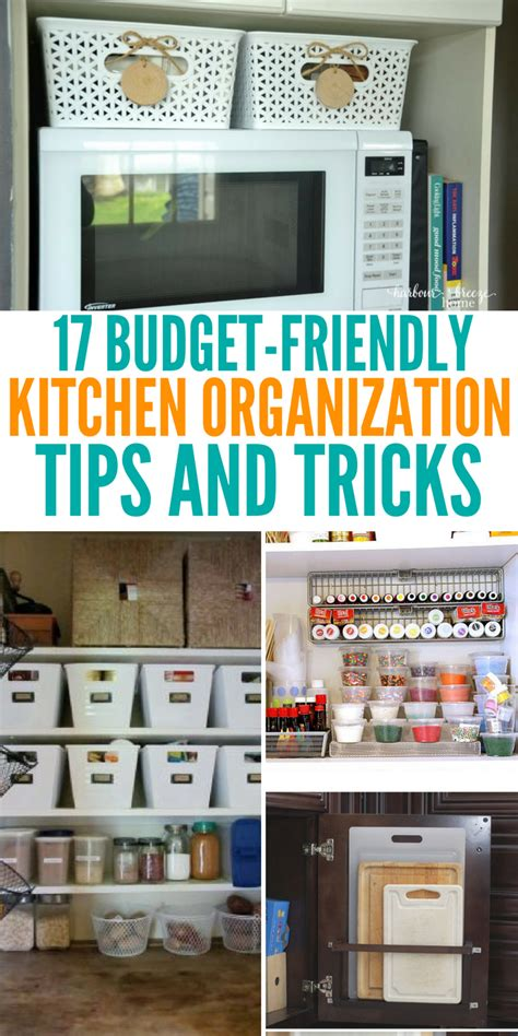kitchen organization on a budget tips and how to s