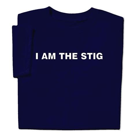 top gear fans want i am the stig t shirt