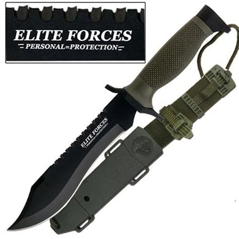 elite forces survival bowie knife combat evolution elite forces survival knife