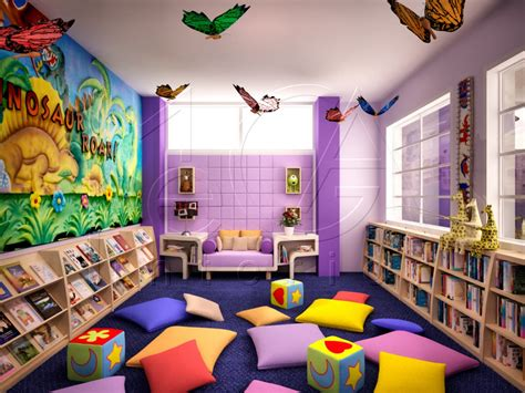 layout ruang perpustakaan primary library ii 2 mi design interior