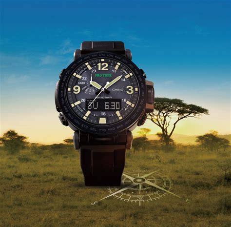 rugged design protrek prg 600y 1 combines rugged design with