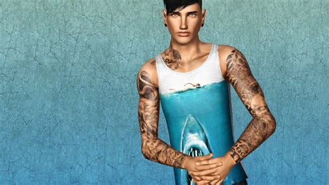 sims 3 tattoos mod the sims where can i find this sleeve