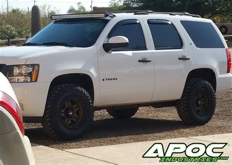 07 14 Chevy Tahoe Apoc Roof Mount For 52 Quot Curved Led Light Tahoe Led Light Bar