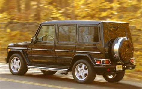 2005 mercedes benz g55 amg suv engine & performance road
