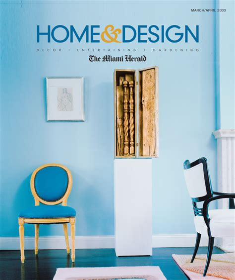 miami home design magazine in the press