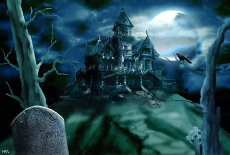 Haunted House 3 by Happy Wallpapers 3d Happy Wallpaper