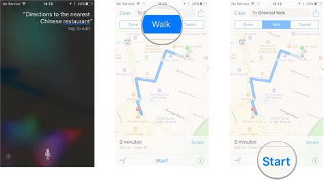 how to use siri to get directions with maps for iphone and