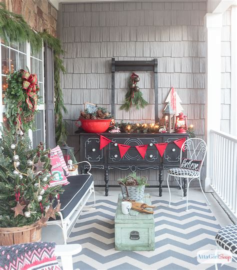 vintage christmas front porch decor front porch decorating ideas you ll want to copy for