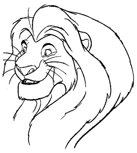 lion king coloring pages coloring pages to print