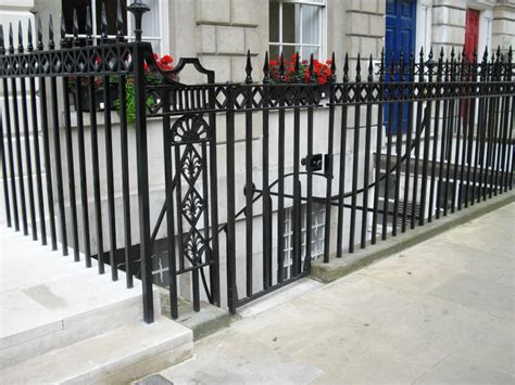 cast iron banister cast iron railings fitzroy square arc fabrications