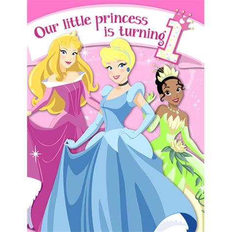 disney princess 1st birthday invitations 1st birthday princess invitations ziggos