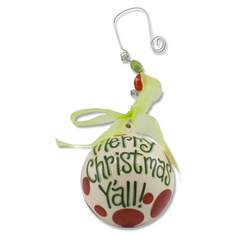 quot merry christmas y all quot ball ornament
