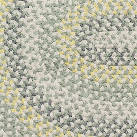 yellow green rug cottage braided wool rug yellow green maine cottage 174