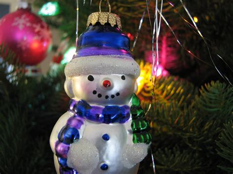 file christmas ornament snowman lights jpg wikimedia commons