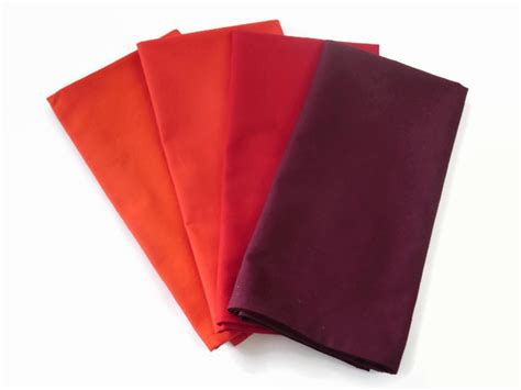 Handmade Napkins - handmade cloth napkins in and burgundy stitched by