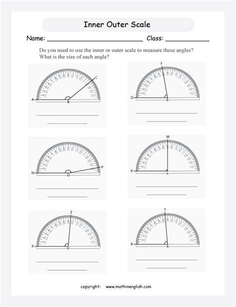 printable protractor practice worksheets protractor worksheet opossumsoft worksheets
