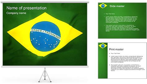 powerpoint 2010 themes brazil brazil flag powerpoint template backgrounds id