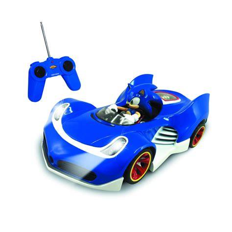 all star auto lights sep131993 sonic all star kart racing r c car w lights